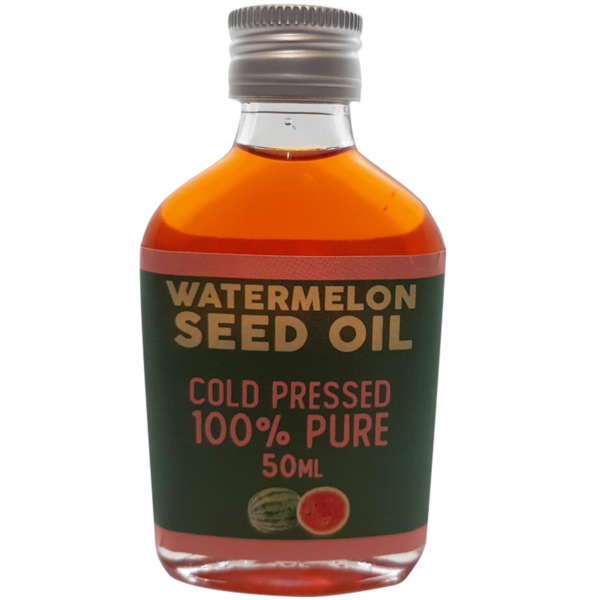 Front image of Watermelon Seed Oil Bottle Front
